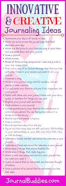 25 Fun Fabulous And Innovative Journaling