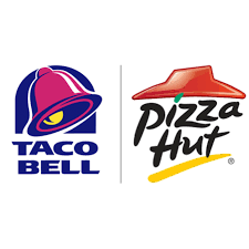 pizza hut logo transpa taco bell sands investment transpa background