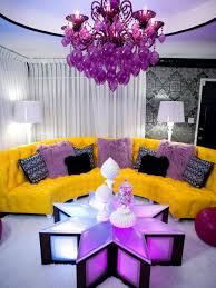 Yellow Chairs Living Room Living Room Living Room Purple Living Room With Black Chairs And