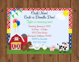 moo invitations old macdonald invite etsy