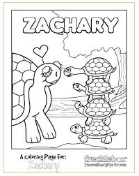Small Picture FREE Personalized Kids Coloring Pages Passion for Savings