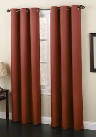 montego grommet curtains paprika