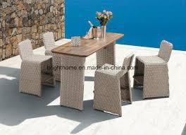 outdoor use bar set wicker weaving