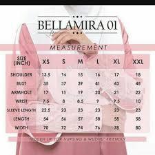 Bella Ammara Size Chart Brand New Bella Ammara Bellamira01 L Womens Fashion On