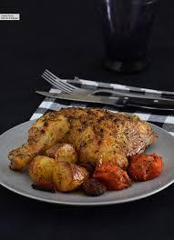 Amazing Pollo Al Horno Con Patatas Y Chorizo: Receta Facilísima Para Uno