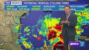 Tropical Storm Warning for much of ...