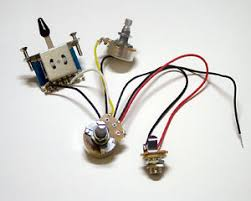 3 pickup guitar wiring harness prewired 500k pots image is loading 3 pickup guitar wiring harness prewired 500k
