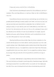 Compare Contrast Essay Examples Free Comparative Thesis Statement
