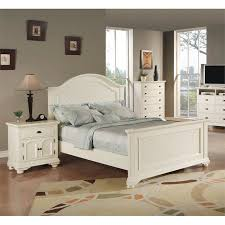 Picket House Furnishings Addison 3 Piece Queen Bedroom Set in White