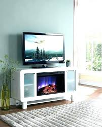 modern corner fireplace tv stand electric image of white electri