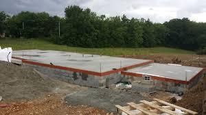 Le 13 Mai 2016, La Construction Du Vide Sanitaire Est Terminée Et Le Béton