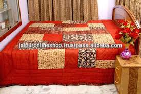 Indian Sari Patchwork Bedding Indian Patchwork Throw Taffeta ... & Indian Sari Patchwork Bedding Indian Patchwork Throw Taffeta Patchwork Quilt  Indian Patchwork Quilt Comforter Middle East Adamdwight.com