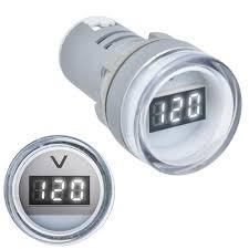 <b>3pcs</b> White <b>22MM</b> AD16 AD16-22DSV Type AC 60-500V Mini ...