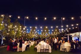 sophisticated outdoor weddings san francisco inspirations lighting how to hang string lights for wedding sophisticated a o