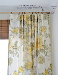 Bamboo Curtain Rod | The Painted Hive