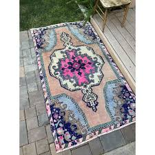 sold out bohemian style pink heart vintage turkish rug 4x7 decorative area rugs