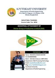 industrial attachment of divine group of industries limited dgi box office milestone 39iron