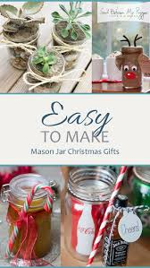 Decorating Mason Jars For Gifts Easy To Make Mason Jar Christmas Gifts Sand Between My Piggies 79