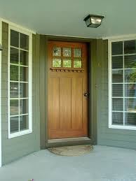unfinished front doorCraftsman Style Doors