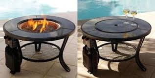 outdoor fire pit propane fire pit table