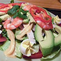 「アーモンドとアボカドサラダ」の画像検索結果