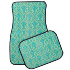 girly car floor mats. Interesting Floor Rustic Chic Blue Faux Wood And Green Lace Damask Car Mat And Girly Floor Mats I