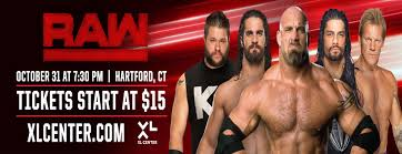 Wwe Seating Chart Xl Center Wwe Monday Night Raw Xl Center