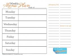 menu planner worksheet how to start weekly menu planning free menu plan worksheet my