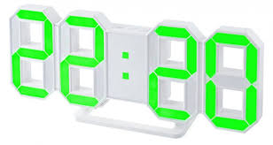 <b>Часы</b>-будильник LED <b>Perfeo Luminous PF</b>-<b>663</b>, белый корпус ...
