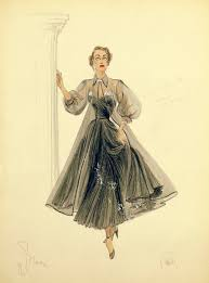 Edith Head Design Sketches Edith Head Costume Designer Drsign Sketchs This Was For