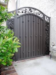 metal fence gate designs. Visit Our Showroom And See The Detail In Handcrafted Wrought Iron Custom Design Railings, Fences, Gate Balconies. With Quality Mind, Metal Fence Designs A