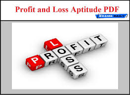 daily profit and loss profit loss aptitude pdf exams daily