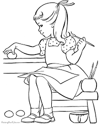 Printable Kid Coloring Pages 006