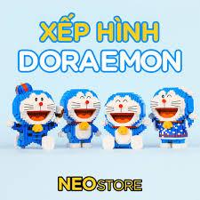 Xếp hình 3D Doraemon siêu dễ thương, cỡ nhỏ, Giá tháng 1/2021