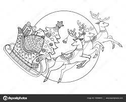 25 Ontwerp Kerstman Rendier Kleurplaat Mandala Kleurplaat Voor