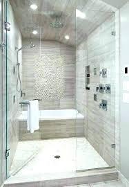 decoration bathtub shower combo walk in bathtubs with half walls tubs and glass doors tub