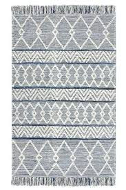 blue jean rug blue denim rug with triangular patterns blue jean rug
