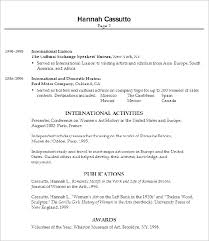 Gallery Of Social Work Resume Example