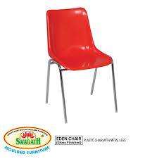 enchanting plastic metal chairs swagath furniture s chair with metal legs