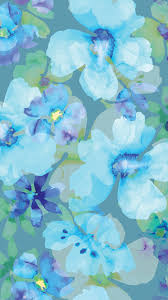 iphone 6 wallpaper floral. Interesting Wallpaper Aqua Floral BlueUltraViolet Purple In Iphone 6 Wallpaper