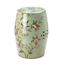 ceramic stool green garden stool ceramic fl ceramic garden stool ceramic accent stool