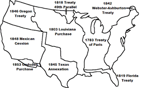 westward expansion timeline for kids  westward expansion map