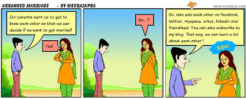 life s a comic strip arranged marriage arranged marriage
