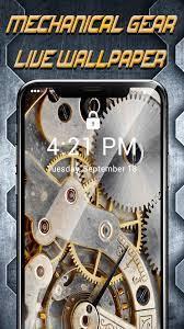 Mechanical Gear APUS Live Wallpaper for ...