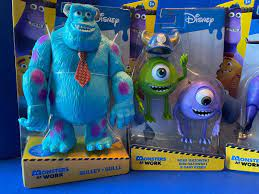 """Toy Review: """"Monsters at Work"""" Action ..."""