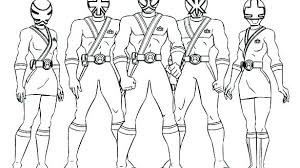 Power Ranger Coloring Page Luvsiteinfo