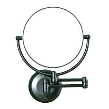 magnifying mirror wall mount wall mounted vanity mirror wall mounted magnifying makeup mirror antique brass finish magnifying mirror wall