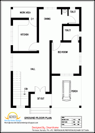 1000 sq ft house plans 2 bedroom indian style 3d 1000 sq ft house