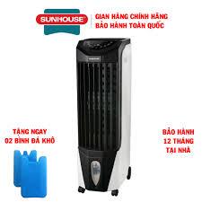 Quạt điều hòa không khí Sunhouse Happy Time HTD7741, Công suất 120W, Lưu  lượng gió 4000m3/h, Diện tích làm mát 30m2 - Bảo hành tại nhà