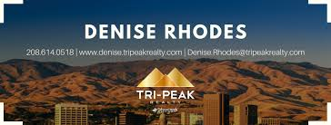 Denise Rhodes Tri-Peak Realty - Silvercreek Realty Group - Home | Facebook
